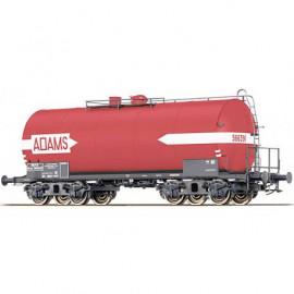 48949 Wagon citerne à bogies livrée rouge ADAMS