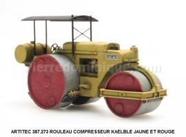 AR387273 COMPACTEUR ROUTIER KAELBLE JAUNE