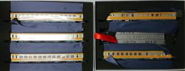 EP221501 Coffret RTG 5 éléments livrée gris métalisée, jaune bouton d'or, toit lisse, cartouche en relief, blason de Vénissieux