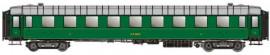 MW 40915 voiture de 2 ème classe B9. Chemin de fer du PO-MIDI