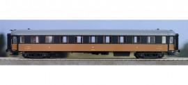 MW 40927 voiture de 2 ème classe B9. Havane noir, Chassis et bout noir PLM