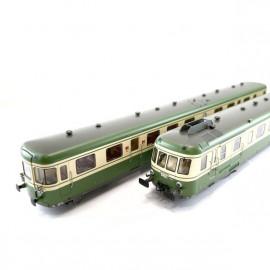 HJ2386 Autorail RGP2 X 2700 SNCF - Livrée verte et jaune