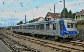 HJ2612 Autorail EAD X 4500, SNCF,livrée bleu et argent