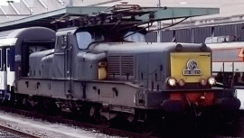 HJ2337 LOCOMOTIVE ELECTRIQUE BB 13041 LIVREE VERT JAUNE SNCF
