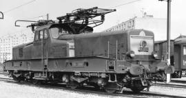 HJ2338 LOCOMOTIVE ELECTRIQUE BB 12079 VERT JAUNE SNCF
