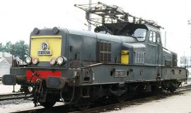 HJ2339 LOCOMOTIVE ELECTRIQUE BB 12026 VERT JAUNE SNCF