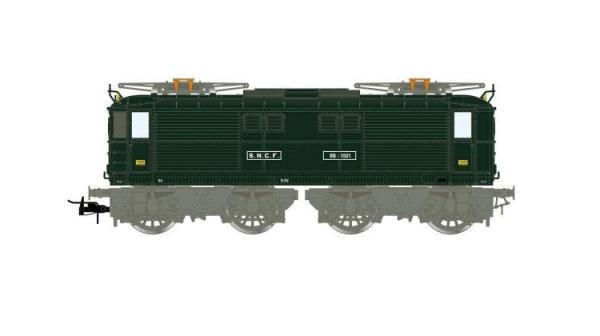 HJ2384S Locomotive électrique type BB 1500 SNCF, livrée verte