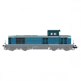 HJ2391 LOCOMOTIVE DIESEL BB 66105, bleu diesel/blanc, livrée Arzens, SNCF
