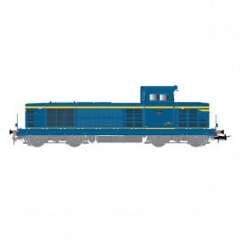HJ2392 LOCOMOTIVE DIESEL BB 66047, bleu roi/jaune, livrée d'origine, SNCF