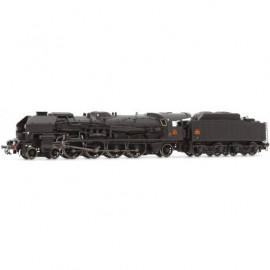 HJ2345S Locomotive à vapeur 241 P 25 livrée noire du dépôt de Chaumont