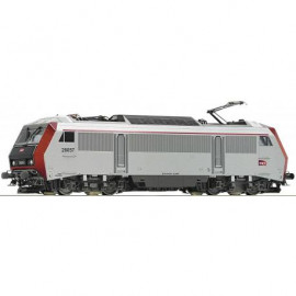 73865 Locomotive électrique BB 26057 livrée grise avec logo carmillon