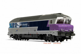 HJ2601 Locomotive diesel CC 72000, SNCF, livré «En Voyage»
