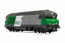 HJ2602 Locomotive Diesel CC 72000 Livrée FRET