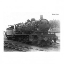 HJ2405 Locomotive vapeur 140 C 70, tender 18 B 64, noir, SNCF