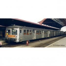 HJ4150 Coffret Rame RIB 70, 3 remorques, livrée d'origine, SNCF