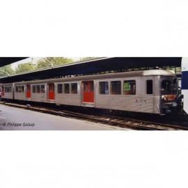 HJ4152 Coffret Rame RIB 70, 3 remorques, livrée d'origine, portes rouges