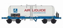 HJ6181 WAGON CITERNE AIR LIQUIDE WATER OF PEROXYDE SNCF
