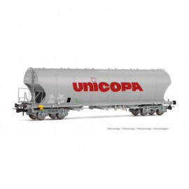 HJ6184 Wagon silo à parois bombées livrée UNICOPA