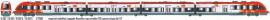 LS 10092 AUTOMOTRICE AGC Z27601/27602 4 PIECES LIVREE TER LANGUEDOC ROUSSILLON SNCF