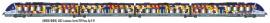 LS 10085S AUTOMOTRICE AGC B 81615/81616 4 PIECES LIVREE TER PACA SNCF