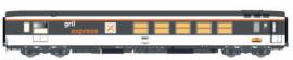 LS 40156 Voiture Gril express, Corail, Logo encadré, plaque Palatino