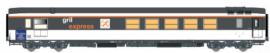 LS 40157 Voiture Gril express, Corail, 5éme régiment du genie, armée francaise
