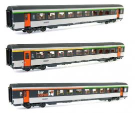 LS 40143 Coffret de 3 voitures corail avec logo nouille