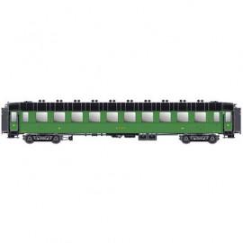 MW 40376 Voiture OCEM troisième classe ETAT livrée verte avec châssis, toit et bouts noir
