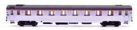 LS 41131 Voiture Mistral 56 première classe A8u livrée inox avec bandeau et plaque TEE sans plaque Mistral numéro d'immatriculation 5030