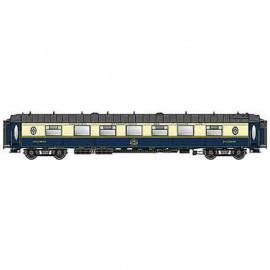 LS 49178 Voiture voyageurs CIWL WPS 56 places livrée bleue et crème 1968 avec monogramme UIC n°51 66 09-80 163-9