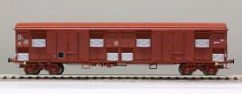 LS 30346 WAGON Gahss 0-16, rouge UIC, volets d'aération inox, 120 km/h, Ep.IV