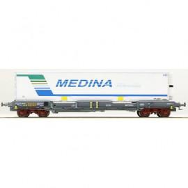 LS 30312 Wagon plat avec caisse mobile frigorifique MEDINA livrée Perpignan