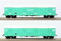 LS 30333 Coffret de 2 wagons Gahkkss 16-6 livrée vert, toit blanc, petit logo FRET, ME 160km/h