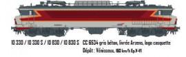 LS 10330  CC6534 gris béton, livrée Arzens, logo casquette