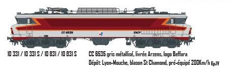 LS 10331S CC6535 gris métallisé, livrée Arzens, logo Beffara