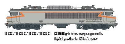 LS 10333S CC 6568 gris béton, orange, sigle nouille