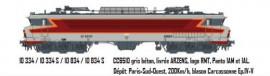LS 10334S CC6510 gris béton, livrée ARZENS, logo RMT, Panto 1AM et 1AL