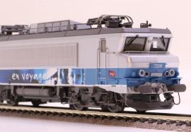 LS 10453DS LOCOMOTIVE ELECTRIQUE BB 7206 LIVREE EN VOYAGE SNCF