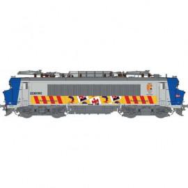 LS 11054 Locomotive électrique BB 22301 RC grande cabine livrée région PACA avec logo carmillon du dépôt de Marseille