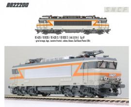LS 10435DS Locomotive électrique BB 22278 livrée grise et orange à plaques avec blason