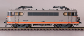 LS 10219 LOCOMOTIVE ELECTRIQUE BB 9497 VESPA LIVREE GRIS BETON/ORANGE SNCF