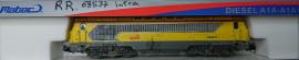 réf 86809 MABAR Locomotive A1A-A1A 68 537 LIVREE INFRA  Échelle N