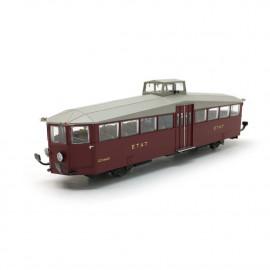 NM20004 Autorail diesel ZZ 24602 livrée rouge ex-ETAT