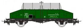 NM50000 Wagon laitier vert citerne inox SNCF