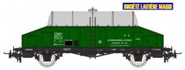 NM50002 Wagon laitier vert citerne inox Sncf