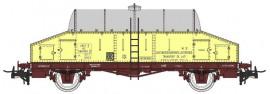 NM50004 Wagon laitier «beurre frais» citerne inox Sncf