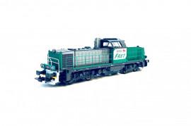 96481 Locomotive diesel BB 60000 livrée FRET avec logo carmillon