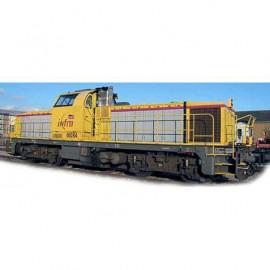 96473 Locomotive diesel BB 60000 livrée INFRA logo carmillon