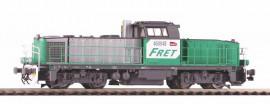 P96485 Locomotive diesel BB 60000 ( 460048 ) livrée FRET avec logo carmillon