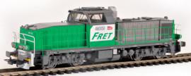 96470 Locomotive diesel BB 60000 livrée FRET avec logo carmillon